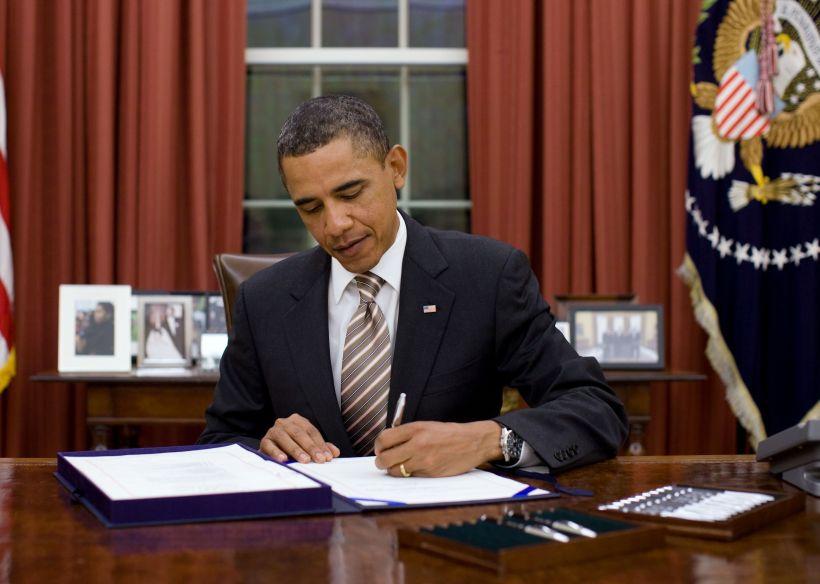 Barack Obama, ex Presidente del régimen estadounidense.