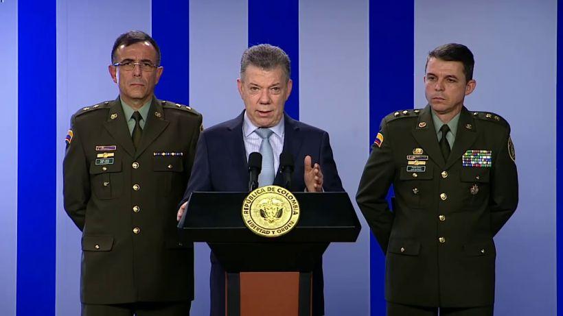 Santos, ex Presidente de Colombia.