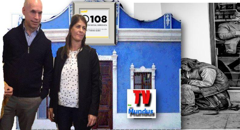 Horacio Rodríguez Larreta y su Ministra Tagliaferri maquillan una cruda realidad en el BAP destinado a personas en situación de calle.