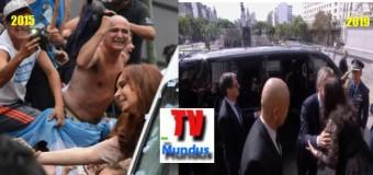 CONGRESO – Régimen | En Plaza de los dos Congresos nadie acompañó a Macri.