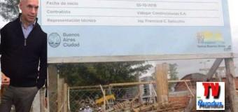 EDUCACIÓN – CABA | Se derrumbó una escuela en construcción. Pudo ser una tragedia. Seis heridos.