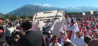 DERECHOS HUMANOS – Régimen | Los católicos romanos beatificaron a Monseñor Angelelli y repudiaron a Marta Michetti.