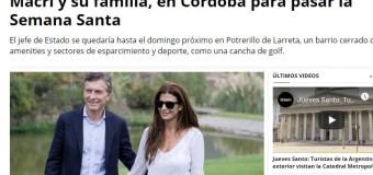 CORRUPCIÓN – Régimen | A pesar de la crisis terminal del país, Macri está nuevamente de vacaciones.
