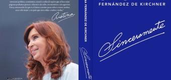 POLÍTICA – Peronismo | Cristina Fernández agota la primera edición de su libro.