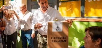 ELECCIONES 2918 – San Juan | El Gobernador Uñac obtuvo un contundente triunfo en las PASO provinciales.