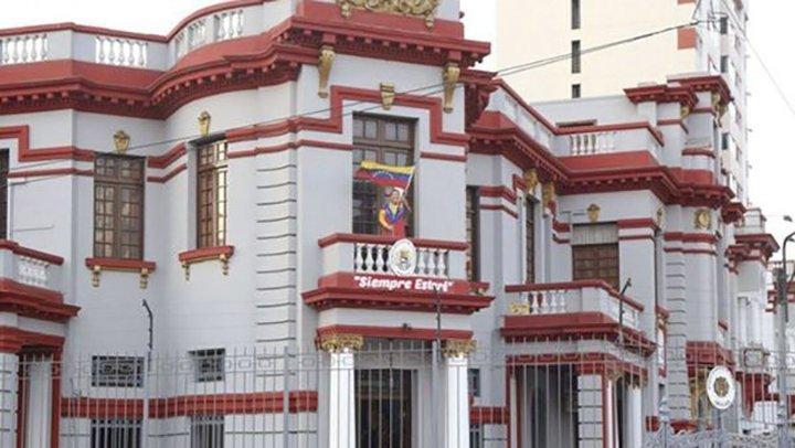 Embajada venezolana en Perú.
