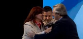 POLÍTICA – Peronismo | Primer acto de la fórmula Fernández-Fernández.