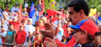 REGIÓN – Venezuela | La marcha a favor del Presidente legítimo Nicolás Maduro midió 20 km de largo.