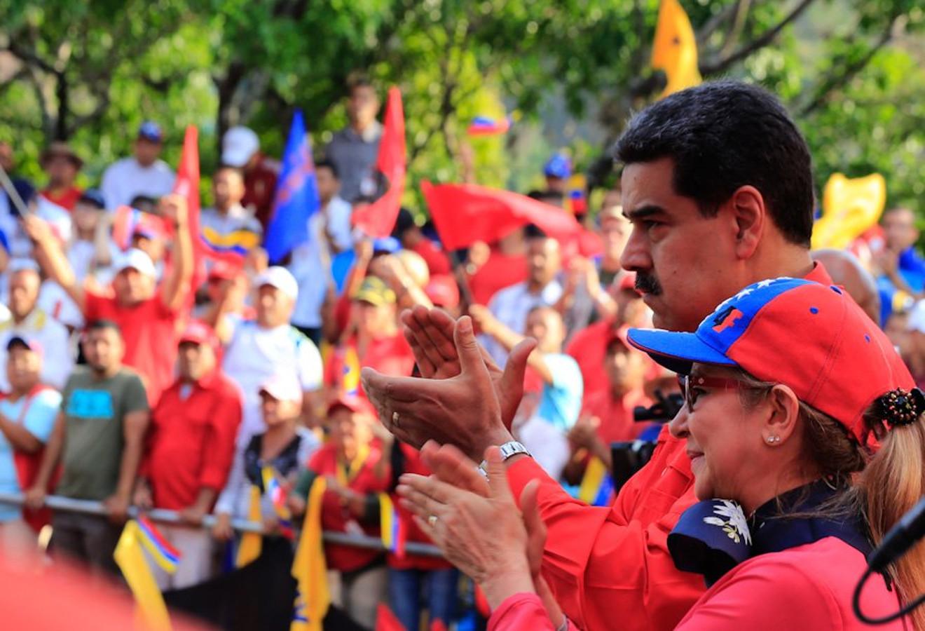 vENEZUELA_Maduro_apoyo