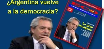 ECO INFORMATIVO nº 86 | Nuevo número de la revista ECO INFORMATIVO. ¿Argentina vuelve a la democracia?