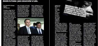 EDITORIAL – Brasil | LAVA JATO. The Intercept devela la trama para encarcelar a Lula.