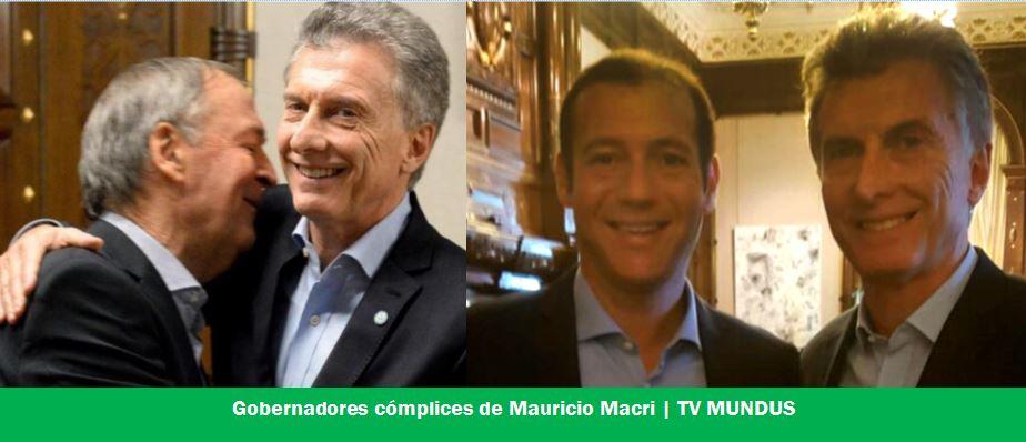 Schiaretti (Córdoba) y Gutiérrez (Neuquén) cómplices de la suerte electoral de Macri.