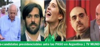 ELECCIONES 2019 – Presidenciables | Se inscribieron nueve listas de candidatos presidenciales.
