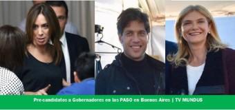 ELECCIONES 2019 – Buenos Aires | Ya están los precandidatos en la Provincia de Buenos Aires, la madre de todas las batallas.