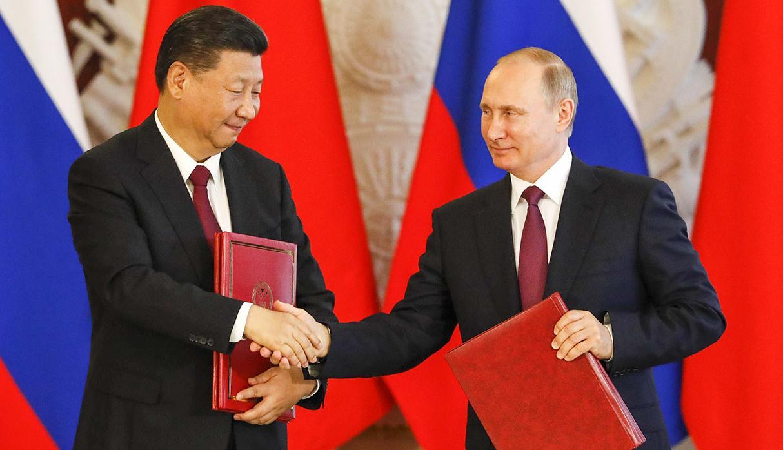 Xi Jinping y Vladimir Putin.