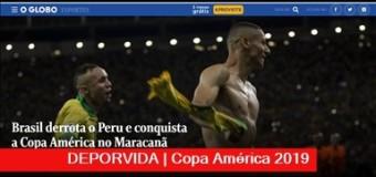 TV MUNDUS – Deporvida 350 | Brasil sale Campeón en su Copa.