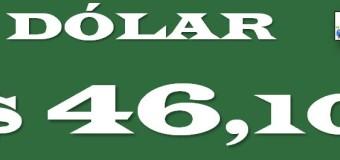 ECONOMÍA – Régimen | El dólar oficial está en $ 45,10 pero solo se consigue a $ 46.