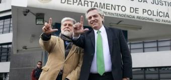 REGIÓN – Brasil | Alberto Fernández se reunió con Lula, preso del régimen nazi brasileño.