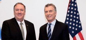 MUNDO – Régimen | Mauricio Macri pone a la Argentina como foco de una guerra ajena.