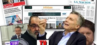 EDITORIAL – Régimen | La mayoría de los medios de comunicación apoyan la continuidad del régimen.