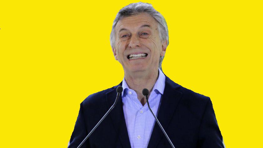 La orden es no preguntarle a Macri. Que solo sonría pero que no hable.
