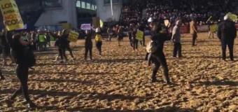 SOCIEDAD – Policiales | Violencia descomunal en la Expo Rural de este año.