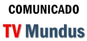COMUNICADO – TV Mundus | El Grupo TV Mundus se solidariza con el dirigente sindical Sergio Palazzo.