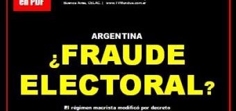 Revista ECO INFORMATIVO nº 87 | ¿FRAUDE ELECTORAL en Argentina?