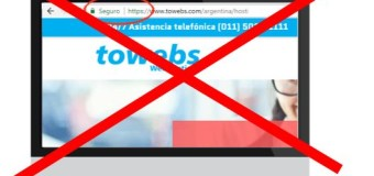 CENSURA – Revista | Towebs estropeó el sitio web de la revista ECO Informativo.