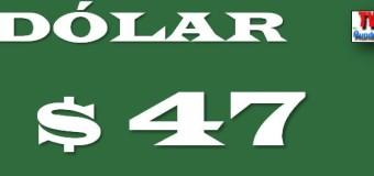 ECONOMÍA – Régimen | El dólar solo se consigue a $ 47.
