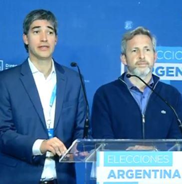 Adrián Pérez y Rogelio Frigerio admitieron la derrota y felicitaron a la oposición.