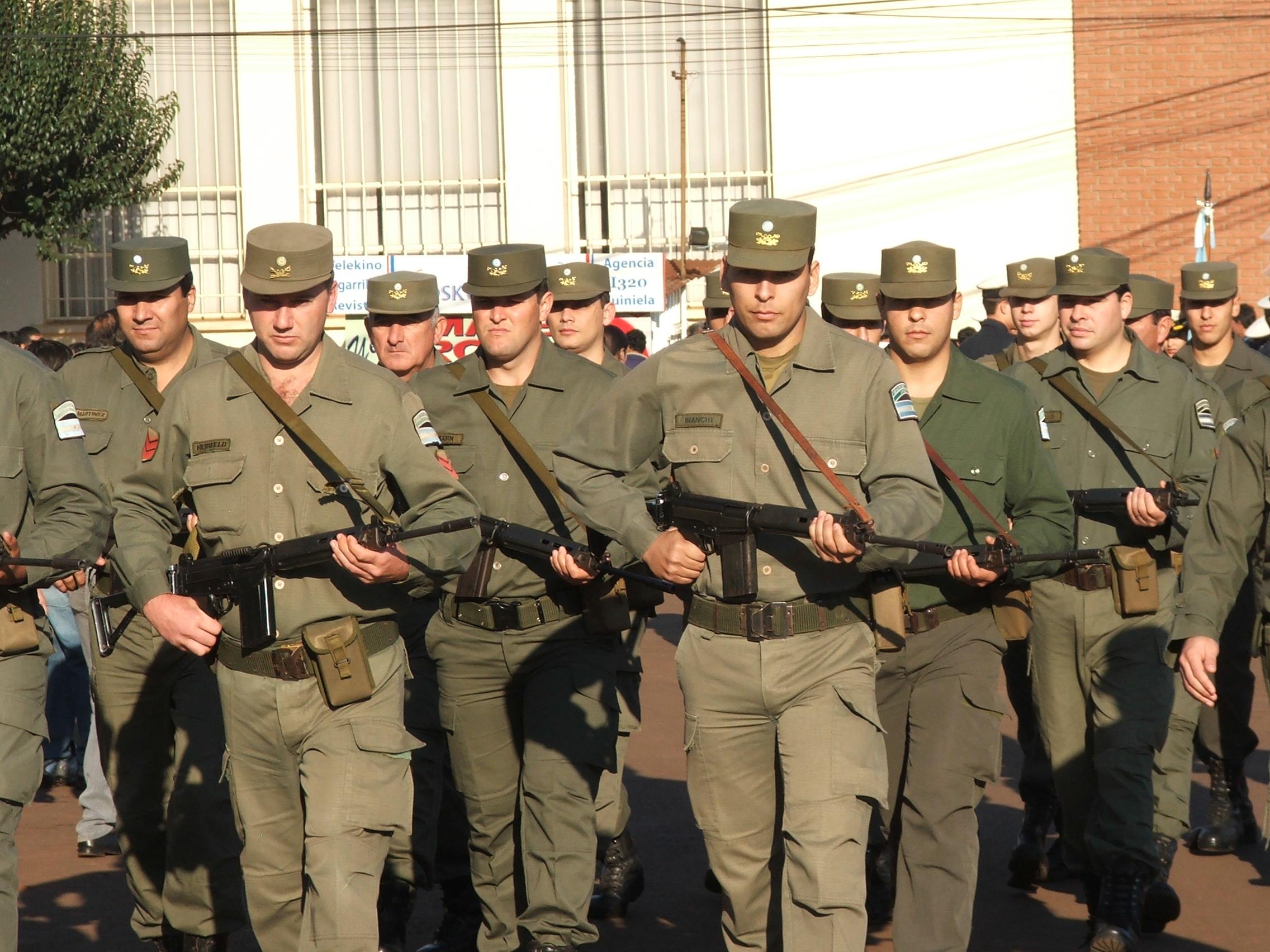 Gendarmeria_formación