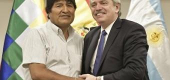 REGIÓN – Bolivia | Evo Morales recibió a Alberto Fernández.