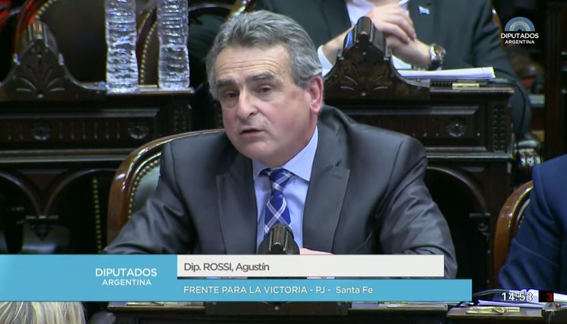 Diputado Agustín Rossi (FPV-PJ).