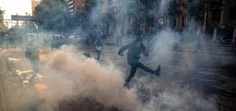 REGIÓN – Chile | Disturbios y represión del régimen de Piñera contra la población por reclamar ante carestía de vida.
