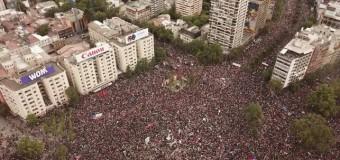 REGIÓN – Chile | Más de un millón de personas pidieron que se vaya Piñera.