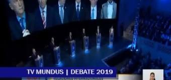 EDITORIAL – Elecciones 2019 | Un debate sin novedades, con discursos esperados.