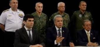 REGIÓN – Ecuador | Lenin Moreno no quiere renunciar y no se sabe dónde está.