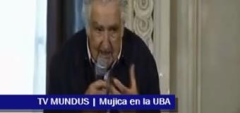 TV MUNDUS – Noticias 285 | Mujica en la UBA