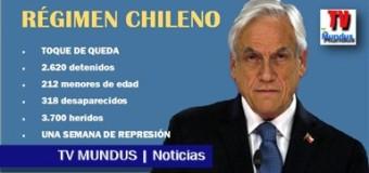 TV MUNDUS – Noticias 296 | URGENTE. Así secuestra el régimen de Piñera.