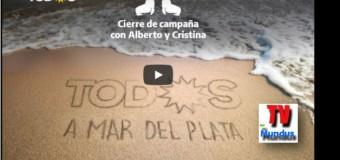 TV MUNDUS – Directo | Transmisión en directo del cierre de campaña del Frente de Todos en Mar del Plata.