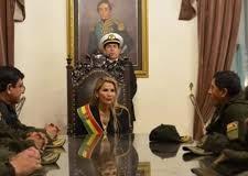 REGIÓN – GOLPE DE ESTADO EN BOLIVIA | Una evangelista fanática se autoproclamó presidenta de la dictadura.