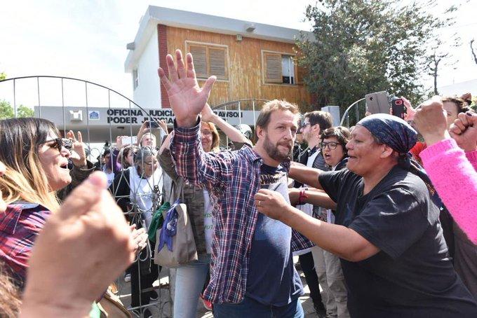 Los dirigentes de ATECH fueron detenidos por el Gobernador durante la represión.