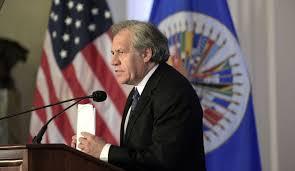 El uruguayo Luis Almagro es el personero de EE.UU. en la OEA.