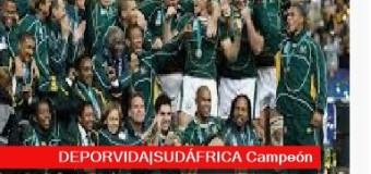 TV MUNDUS – Deporvida 363 | Sudáfrica ganó la final de Rugby ante Inglaterra 32-12