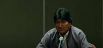 REGIÓN – GOLPE DE ESTADO EN BOLIVIA | Conferencia de prensa de Evo Morales.