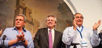 EDITORIAL – Trabajadores | Alberto Fernández participó del plenario de la CGT y fuerza una compleja unidad.