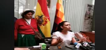 REGIÓN – GOLPE DE ESTADO EN BOLIVIA | Los militares no permitieron a Adriana Salvatierra acceder al Senado. Es la sucesora natural de Evo.