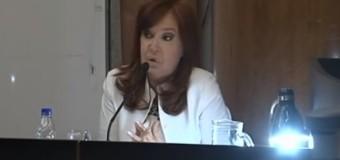 PERSECUCIÓN POLÍTICA – Régimen | Cristina Fernández se defendió en Tribunales con una fuerte declaración política.