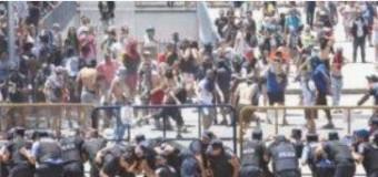 ARGENTINA – Mendoza | Dura represión del gobernador macrista contra quienes se oponen a la Ley de Minería.